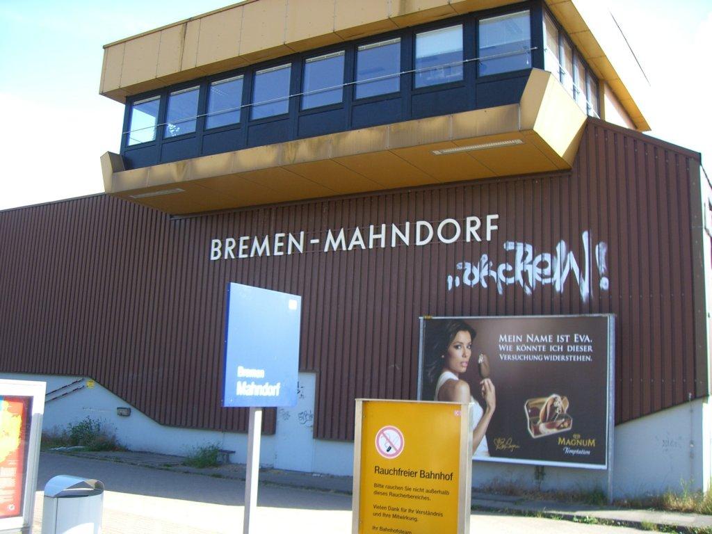 Bremen Mahndorf - Stellwerk