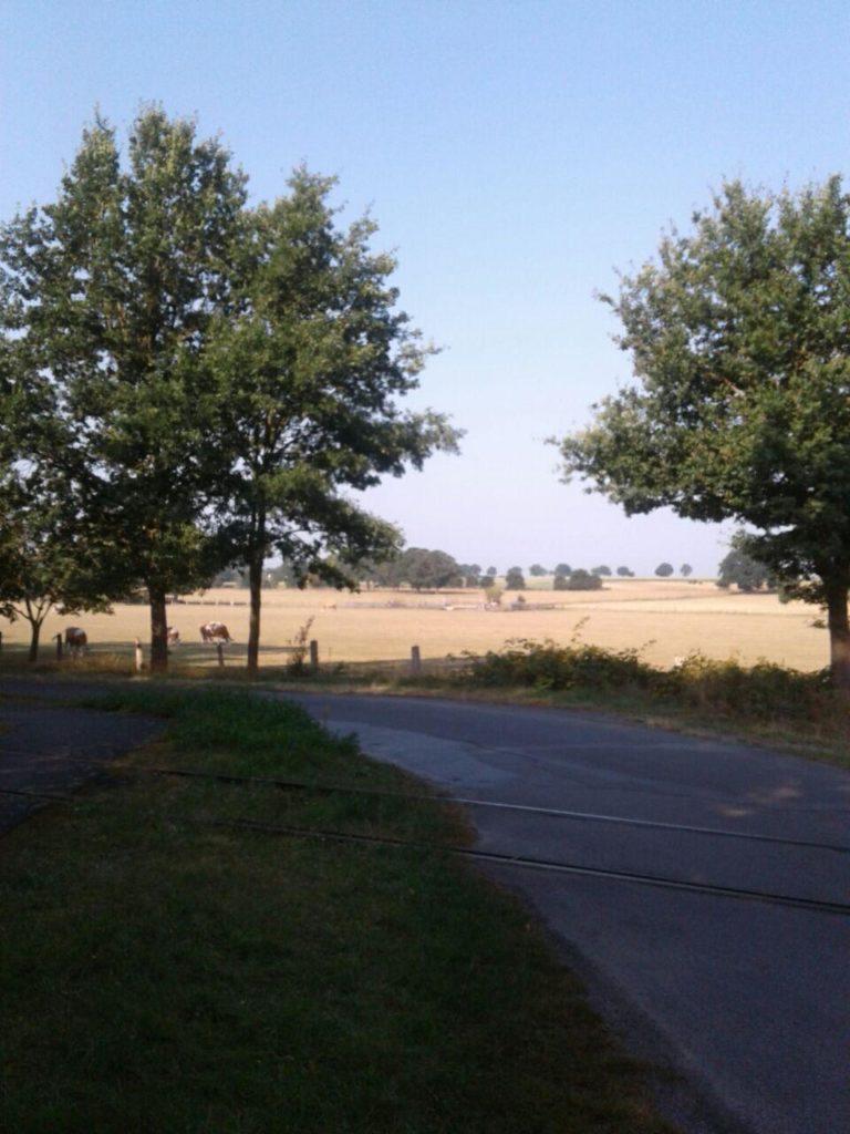 Eisenbahn zwischen Hepstedt und Breddorf